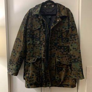 Camo utility statement jacket